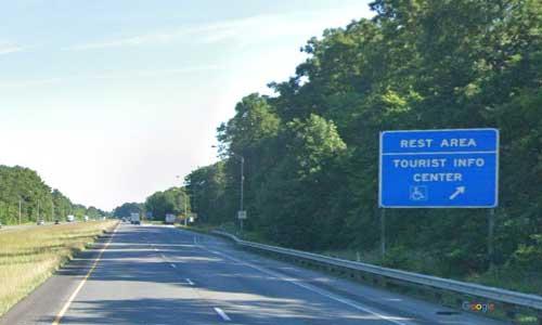 in interstate 65 indiana i65 henryville rest area mile marker 22 northbound off ramp exit