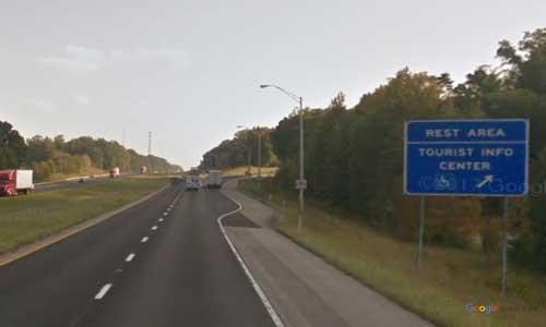 in interstate 65 indiana i65 henryville rest area mile marker 22 southbound off ramp exit